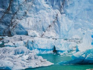 iceberg on blue water